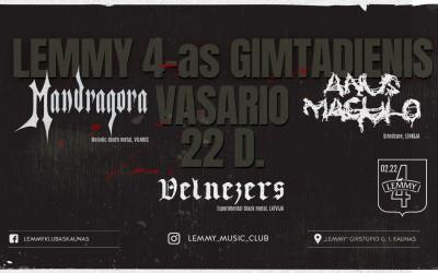 Lemmy klubui 4-eri
