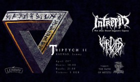 Triptych II - Intrepid/Värdjas/The Faith of Metztli