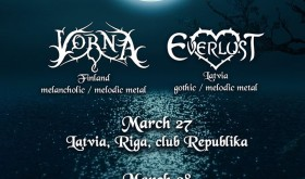 Vorna [FIN] // Everlust [LV] // Aeulurus [LT] / ATŠAUKTA