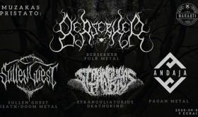 Berserker / Stranguliatorius / Sullen Guest / Andaja