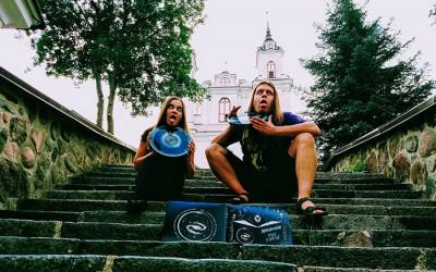 """Doom metal duetas HELLHOOKAH išleido """"The Curse"""" vinilą"""