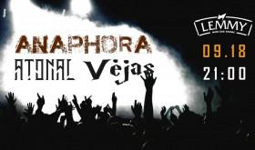 Anaphora / Atonal / Vėjas