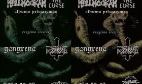 """HELLHOOKAH albumo """"The Curse"""" pristatymas"""