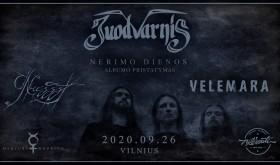 """Juodvarnis. Albumo """"Nerimo dienos"""" pristatymas. Vilnius"""