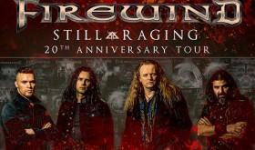 Lietuvoje pirmą kartą koncertuos Ozzy Osbourne'o gitaristo Gus G grupė FIREWIND
