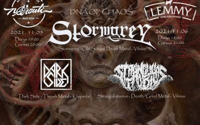 Stormgrey, Stranguliatorius, Dark Side